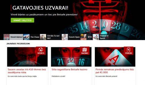 interneta kazino betsafe mājas lapa
