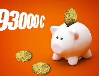 Pensionārs no Madonas, pirmo reizi mūžā spēlējot loteriju – SuperBingo laimests 293 tūkstošus eiro