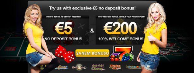 bez depozīta bonuss