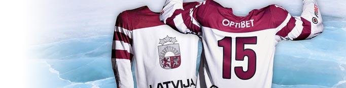 optibet bezmaksas krekls Latvijas izlases