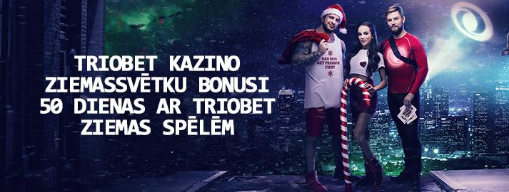 Triobet kazino Ziemassvētku bonusi