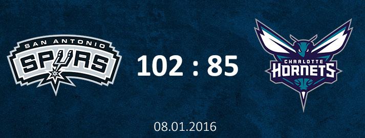 08.01.2016 San Antonio Spurs Dāvja Bertāna spilgtākie momenti