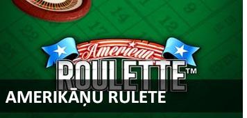 Amerikāņu rulete BEZMAKSAS RULETE spēlēt