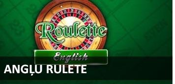 Angļu rulete BEZMAKSAS RULETE spēlēt