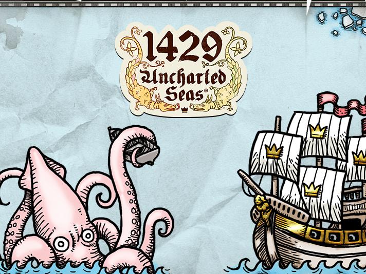 Bezmaksas 1429 Uncharted Seas spēļu automāts