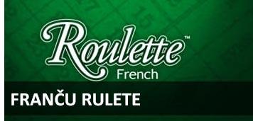 Franču rulete BEZMAKSAS RULETE spēlēt