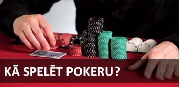 Kā spēlēt pokeru pamācība video