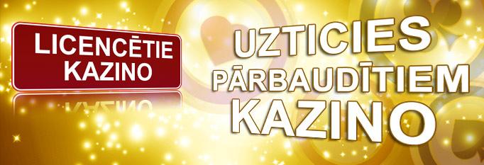 licencētie kazino Latvijā