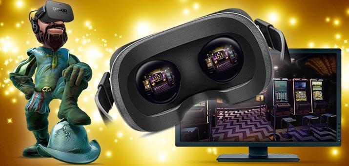 Virtuālās Realitātes spēļu automāti vr kazino