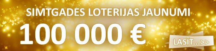 simtgades loterijas jaunumi jaunākās ziņas
