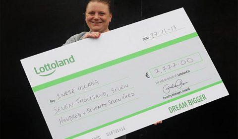 daudzbērnu māmiņa no Latvijas laimē loterijā