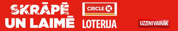 Cirkle K loterija Skrāpē un laimē