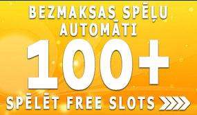 bezmaksas free slots 100 spēlēt spēļu automātus bez maksas