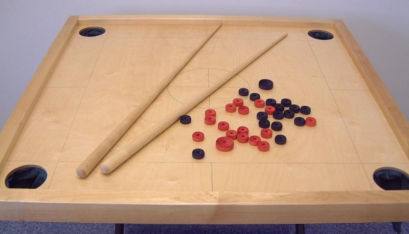 novuss spēle galds