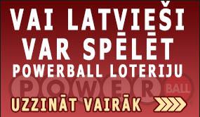 vai latviesi var spelet power ball loteriju spēles pamācība