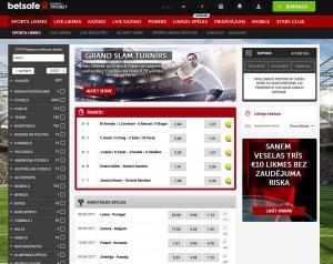 interneta kazino betsafe totalizators
