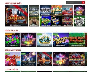 interneta kazino betsafe video slots