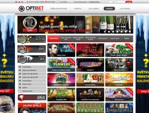 online kazino optibet lobijs