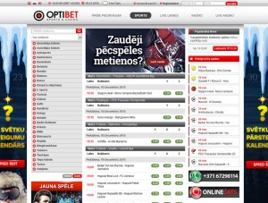 online kazino optibet totalizators