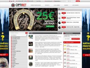 online kazino optibet web